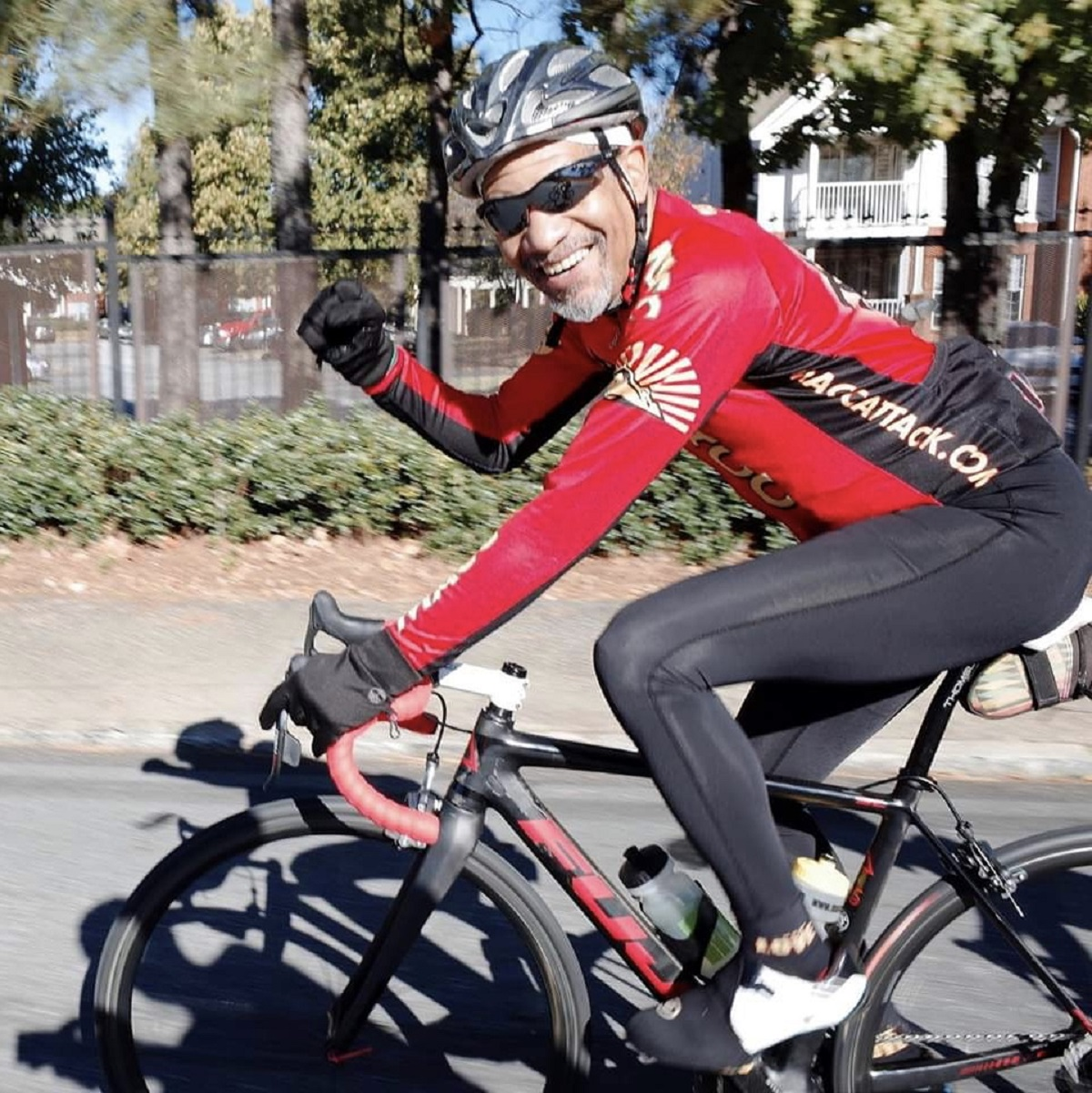 "Greg Masterson, MACC President, featured in ""Traveling at the Speed of Bike."""
